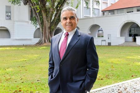 Kishore Mahbubani joins Harvard University