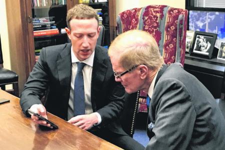 Sceptics don't expect much as Facebook's Zuckerberg faces Congress