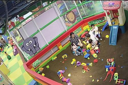 Man allegedly shoves  boy, 5, at indoor Yishun playground