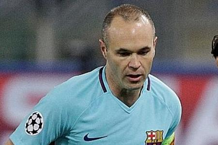 No one expected painful Barca defeat, says distraught Iniesta
