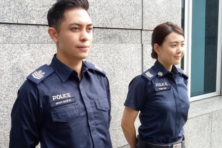 New uniforms to help policemen beat the heat