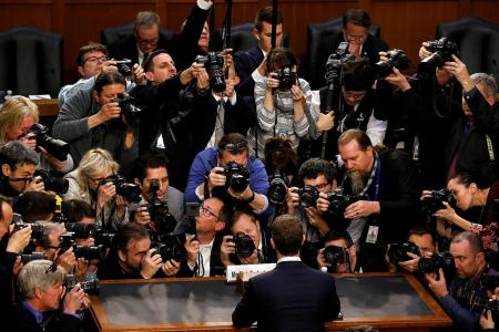 Facebook's Zuckerberg unscathed by congressional grilling