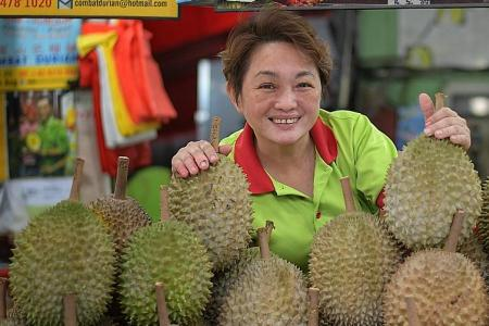 Meet the queen of the king of fruits
