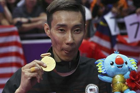 Lee bows out of Commonwealth Games with hat-trick of singles titles