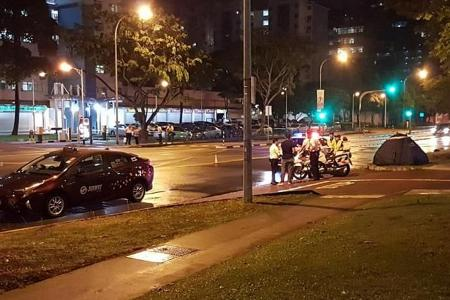 SMRT cabby arrested for fatal Boon Keng Road accident