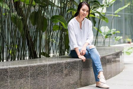 Second-gen star Chantalle Ng stunned by nomination in Star Awards