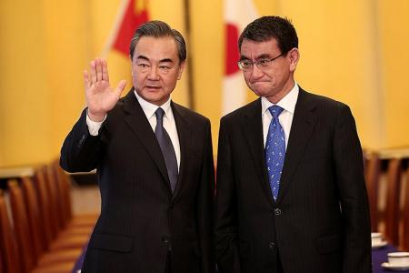 Chinese minister visits Japan for talks on N. Korea, regional issues