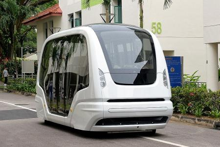 NTU students can soon ride driverless shuttle bus across campus