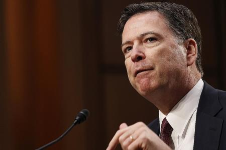 Fired FBI director Comey says Trump 'morally unfit'