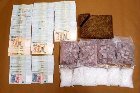 Drugs worth more than $288,000 seized; four arrested