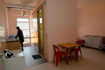 Mock-up of HDB flat a 'training ground' for homeless men