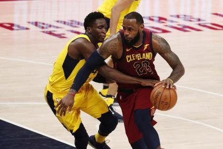 LeBron drops 46 as Cavs slow Pacers
