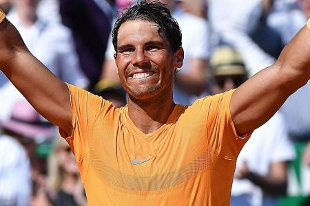 After 11th Monte Carlo title, Nadal looks to Barcelona and French Op