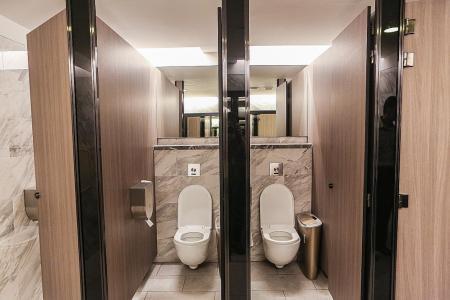 Three sets of toilets at The Shoppes at Marina Bay Sands get six-stars