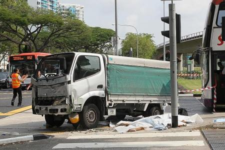 Lorry driver charged over accident that killed 3 pedestrains