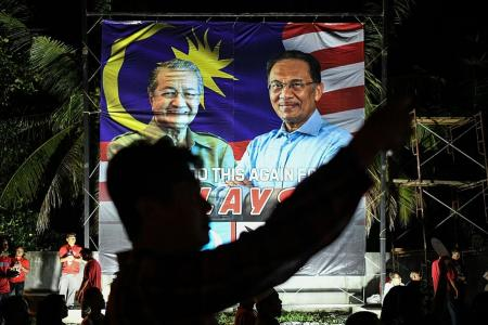 Identity politics at heart of M'sia election