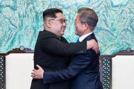 Korean leaders pledge peace