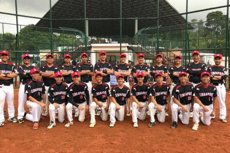 Singapore men's softball team qualify for world championship