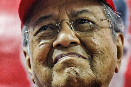 Mahathir brings up 1MDB issue to rural voters ahead of election