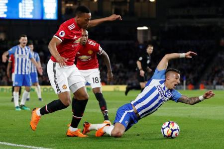 Man United lacked desire in Brighton defeat: Mourinho