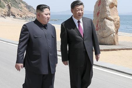 China's Xi, North Korea's Kim meet ahead of Trump summit