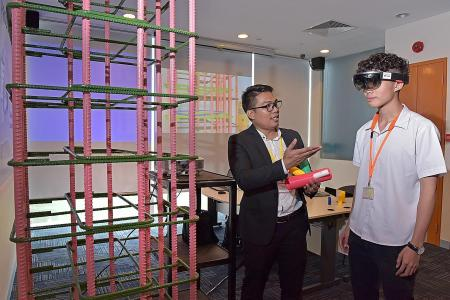 New ITE facility to teach digital construction skills opens