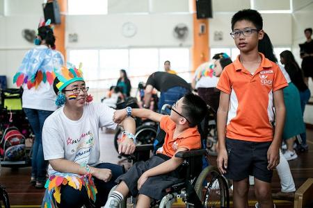 Inclusive camp for special-needs kids