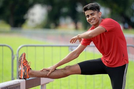 National sprinter Muncherji breaks own 400m record