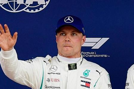 Mercedes' Bottas believes he is meeting his targets