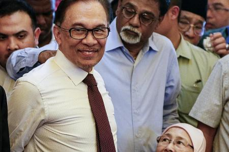 On his release, Anwar declares 'new dawn for Malaysia'