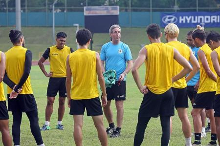 Albirex can win SPL even with U-19 squad: Raab
