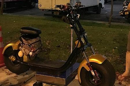 64kg e-scooter among 10 PMDs seized in LTA operation