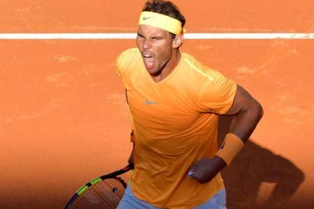 Nadal downs Djokovic to reach 10th Rome final