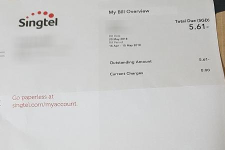 Singtel refund letters mistaken for scam