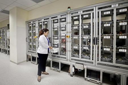 Robot tech speeds up medicine collection at Punggol Polyclinic