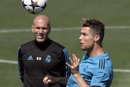 Ronaldo lives for Champions League final stage: Zidane