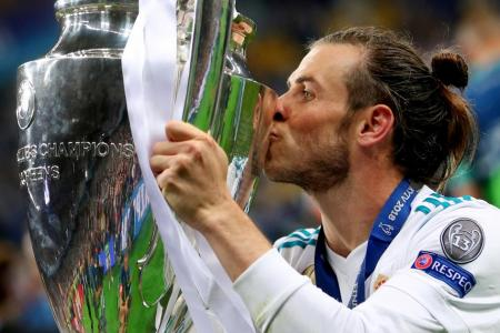 Bale considering Real future despite starring role in final
