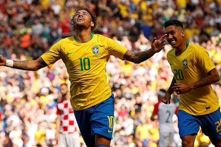 Richard Buxton: Neymar back with a bang