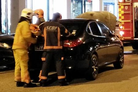 Two cars catch fire in separate incidents