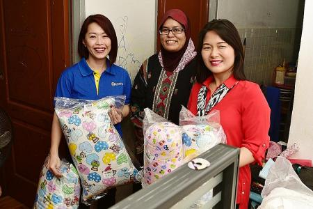Courts brings joy to low-income Muslim families