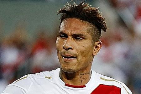Guerrero's lack of matches will hamper Peru