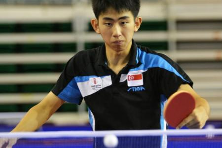 Singapore paddler Koen qualifies for Youth Olympics