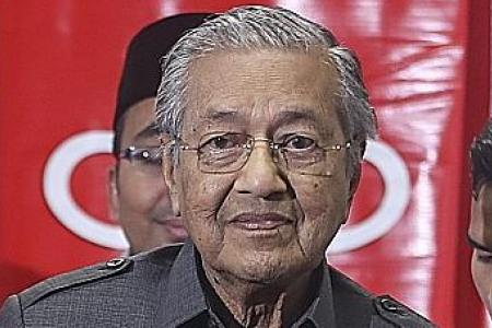 Dr Mahathir: Two-year stint as PM only a suggestion