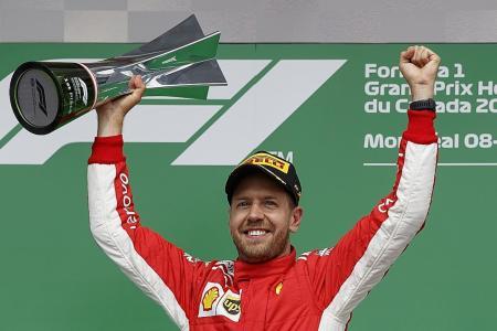 Vettel in 50th and 'perfect' GP win