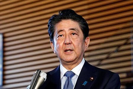 Japan PM hails Trump-Kim agreement as 'first step'