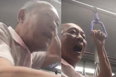MRT harasser gets 14 days' short detention order