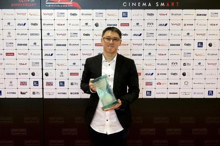 Singaporean wins top prize at Tokyo film festival
