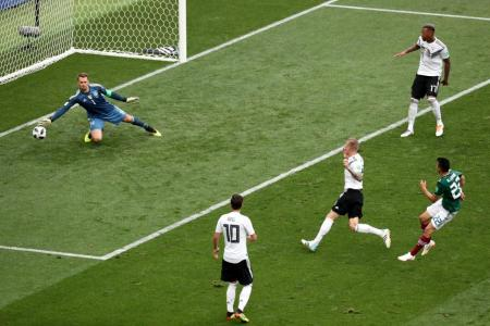 World champions Germany stunned by Mexico