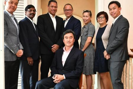 Tang announces team for Singapore Athletics elections