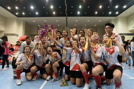 Singapore's women floorballers clinch Asia-Oceania title
